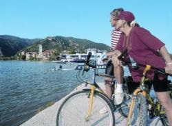 Flusskreuzfahrten für Radfahrer
