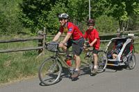 Mit Kind und Rad auf Tour