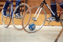 Radballräder und Radball