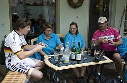 Radfahrer und Alkohol
